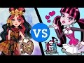 Ever After High vs. Monster High Fashion Face Off - Who Wore It Best?