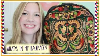 What's in my Backpack?! Junior Year | 2014 Thumbnail
