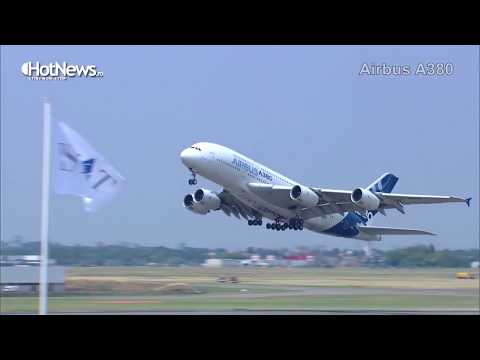 Paris Air Show 2017 Short highlights - F35, A380, A321 Neo, A350-1000, A400M, Embraer, Rafale