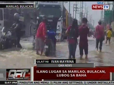 QRT: Ilang lugar sa Marilao, Bulacan, lubog sa baha