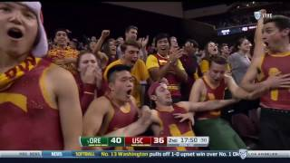 Men's Basketball: USC 70, Oregon 81 - Highlights 2/11/17