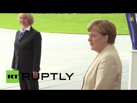 Germany: Merkel meets with Israeli President Reuven Rivlin in Berlin