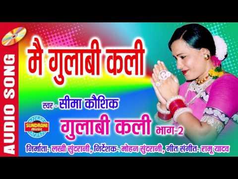 मै गुलाबी कलि   गुलाबी कलि भाग - 2   Sima Kaushik - Audio Song   Chhattisgarhi Lok Geet