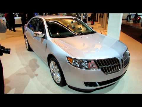 2012 Lincoln MKZ Exterior and Interior at 2012 Toronto Auto Show