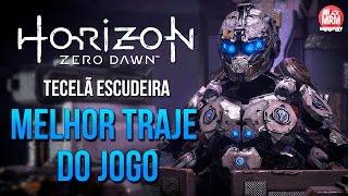 Horizon Zero Dawn - COMO PEGAR O MELHOR TRAJE DO JOGO / Tecelã Escudeira  ( Armadura Secreta )