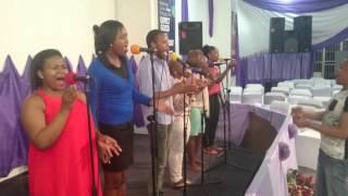 TREM (Gracr House, Pretoria) Am healed by the power of His Word _ Yebo Linamandla Medley