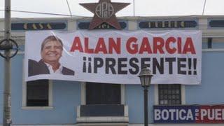 Simpatizantes apristas velan los restos del expresidente Alan García