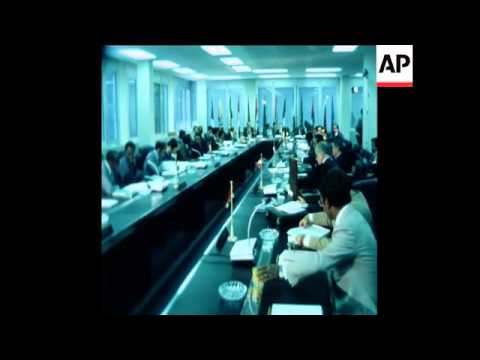 SYND 4 8 77 OIL MINISTER ATTEND OPEC MEETING