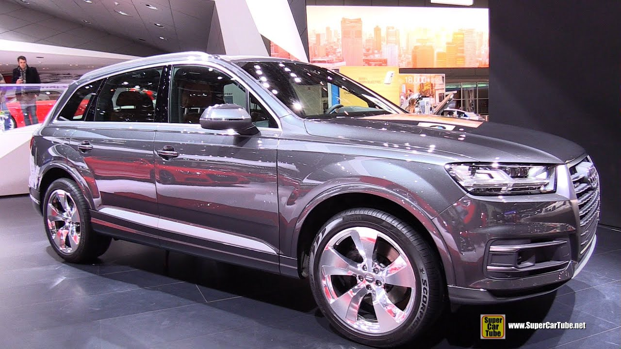 2016 Audi Q7 Tdi Quattro Exterior And Interior