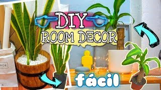 3 ideas fáciles para decorar I DIY I ROOM DECOR
