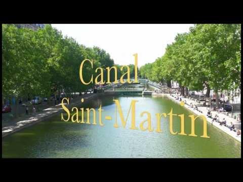 PARISCAM11 - PARIS OFF THE BEATEN PATH:  ST MARTIN CANAL WALK-ABOUT