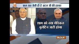 Atal ji Health: Rajasthan CM Vasundhara Raje reaches Delhi, will head to AIIMS now
