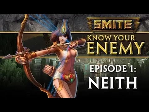 видео: smite - know your enemy - Гайд #1: neith - Нейт (Субтитры)