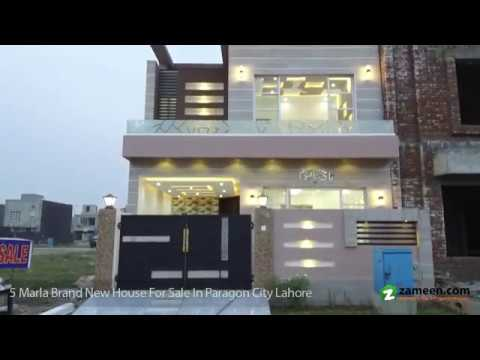 5 MARLA BRAND NEW HOUSE FOR SALE IN PARAGON CITY LAHORE