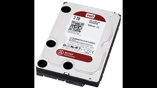 Western Digital WD Red NAS Hard Drive 5400 RPM Class, SATA 6 Gb s, 64 MB Cache, 3 5 WD40EFRX