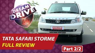 TATA SAFARI STORME SUV 2016  AUTO REVIEW PART 2   DREAM DRIVE 20-04-2016   Kaumudy TV