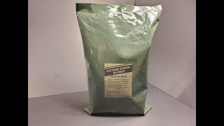 2018 Lithuanian Food Ration MRE Review Meal Ready to Eat Taste Testing
