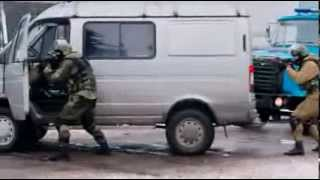 the Russian mafia  against Russian special forces