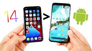 10 Ways iOS 14 is Better than Android!
