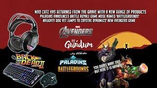 Paladins Battlegrounds!? │Naughty Dog vet jumps to Crystal Dynamics │ Mad Catz returns
