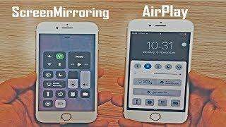 Airplay Mirroring vs Screen Mirroring (iOS 10 vs iOS 11) - What
