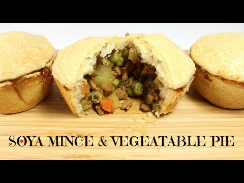 VEGAN MINCE & VEGETABLE PIE | WHO ATE ALL THE PIES...