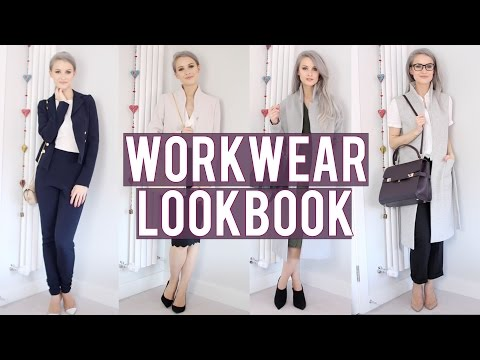 Smart Workwear Lookbook ad | Inthefrow