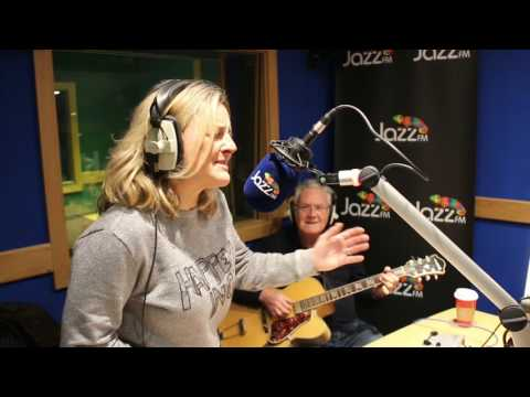 Claire Martin and Jim Mullen in session at Jazz FM