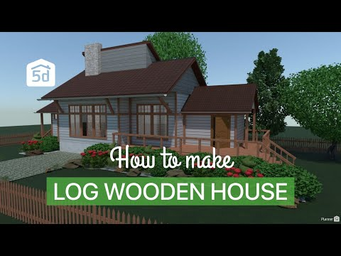 Log Wooden House by Planner 5D