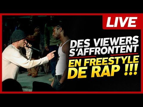 DES VIEWERS S'AFFRONTENT EN FREESTYLE RAP !