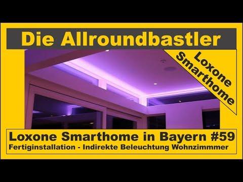 Loxone Smarthome - Fertiginstallation in Bayern #59 - Indirekte Beleuchtung Wohnzimmer und Küche