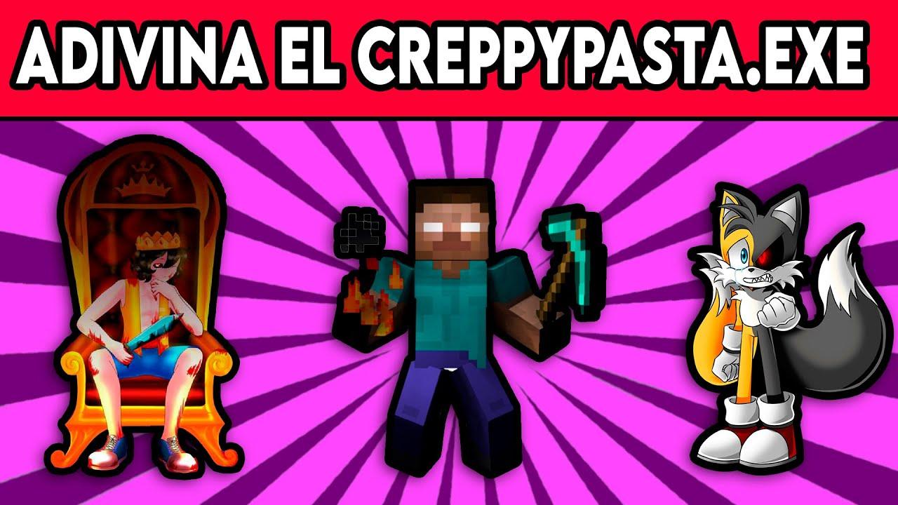 Adivina El CREPPYPASTA.EXE Con Emojis | JEGA TOONS