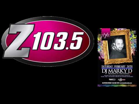 Z103.5 Wayback Wednesday Finale - DJ Marky D (25/11/2015)