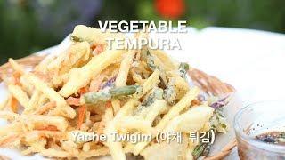 How To Make Crispy And Light Vegetable Tempura