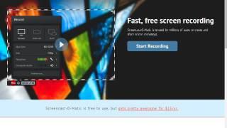 Как снять видео с экрана компьютера без программ!(http://screencast-o-matic.com/home САЙТ!, 2015-12-26T11:53:55.000Z)