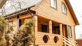 видео Д-8 Каркасный дом размером 8x9 м