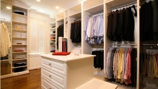 Closet organization is key; with so many shoes, ties, clothes and bags to stash, it can get messy in a short amount of time. When