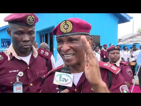 First Lady of Lagos State, Mrs Bolanle Ambode Commissions New FRSC Office at Ibeju Lekki