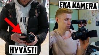 Annoin mun vanhan kameran mun katsojalle! :)