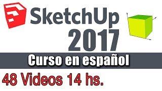14 - Sketchup Pro 2017 Situar camara Girar y Caminar