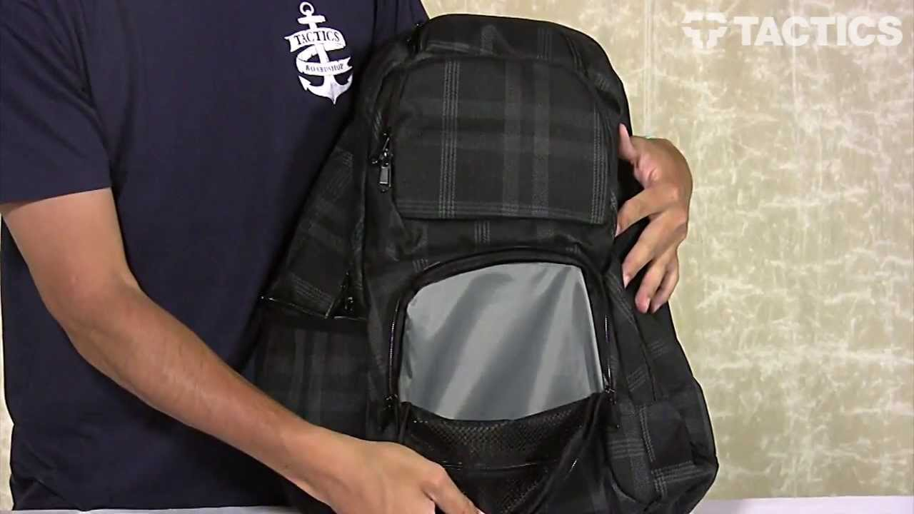 DAKINE Terminal Backpack Review - Tactics.com - YouTube