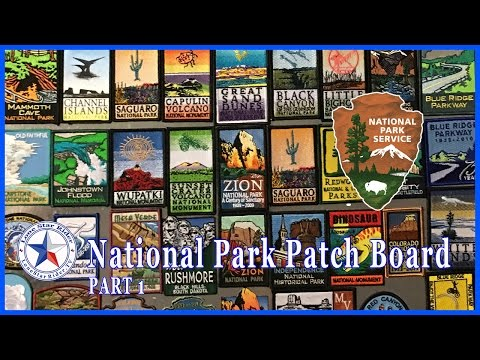 National Park Patch Board • Part 1 • 02-23-2017