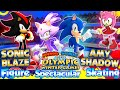 ABM: Sonic's Figure Skating Spectacular !! Mario & Sonic SOCHI Olympic's!! HD
