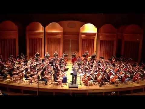 Radioactive - Walton High School Orchestra Camp 2013