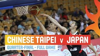 Chinese Taipei v Japan - Full Game Quarter-Final - 2014 FIBA Asia Cup