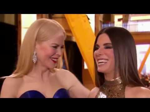 Nicole Kidman and Sandra Bullock Reunion - Oscar 2018