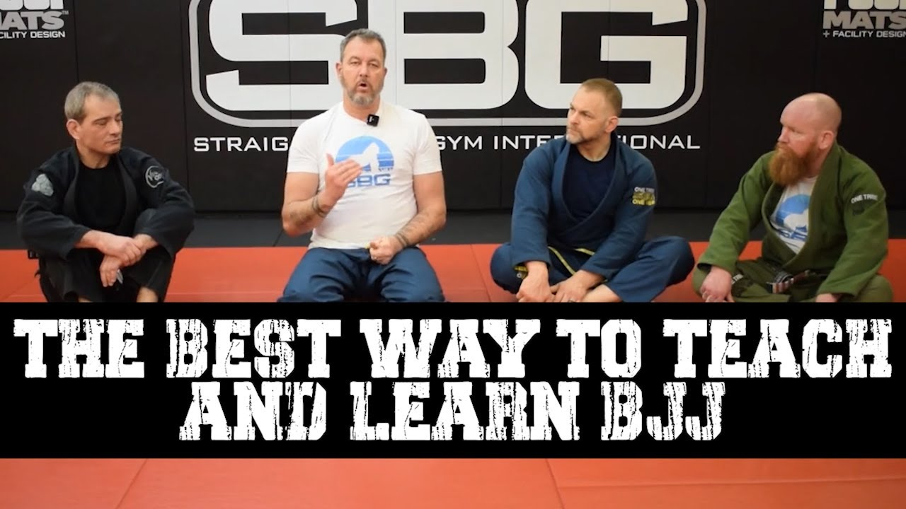 The Best Way to Teach and Learn BJJ • Survive and Escape Podcast