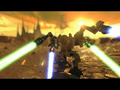 LEGO Star Wars Battlefront 2 MOD Gameplay (Heroes and Villains)