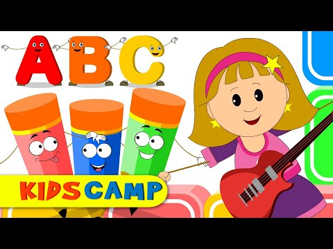 abc-song-elly-playing-guitar- -nursery-rhymes-and-kids-songs-by-kidscamp