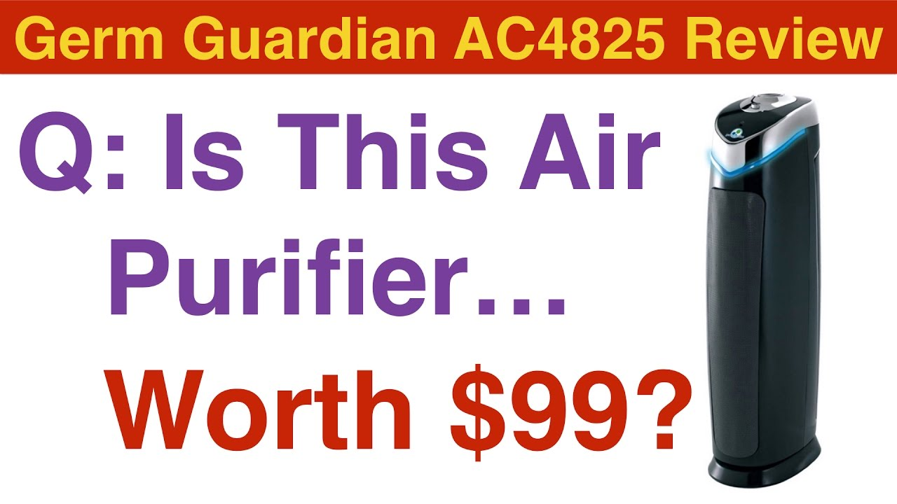 germ guardian air purifier review ac4825 is it worth